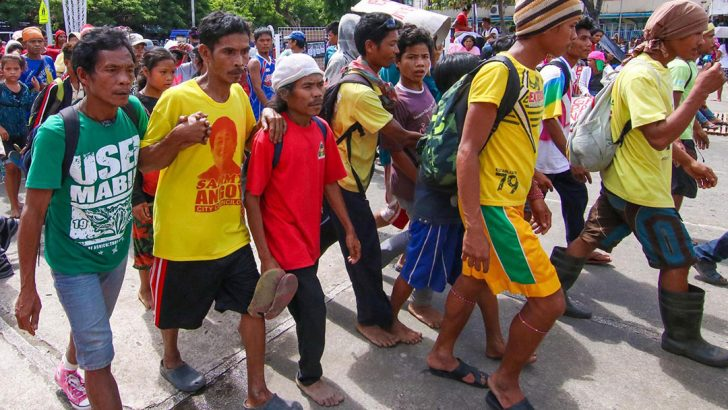 Mindanao farmers demand food, land, justice
