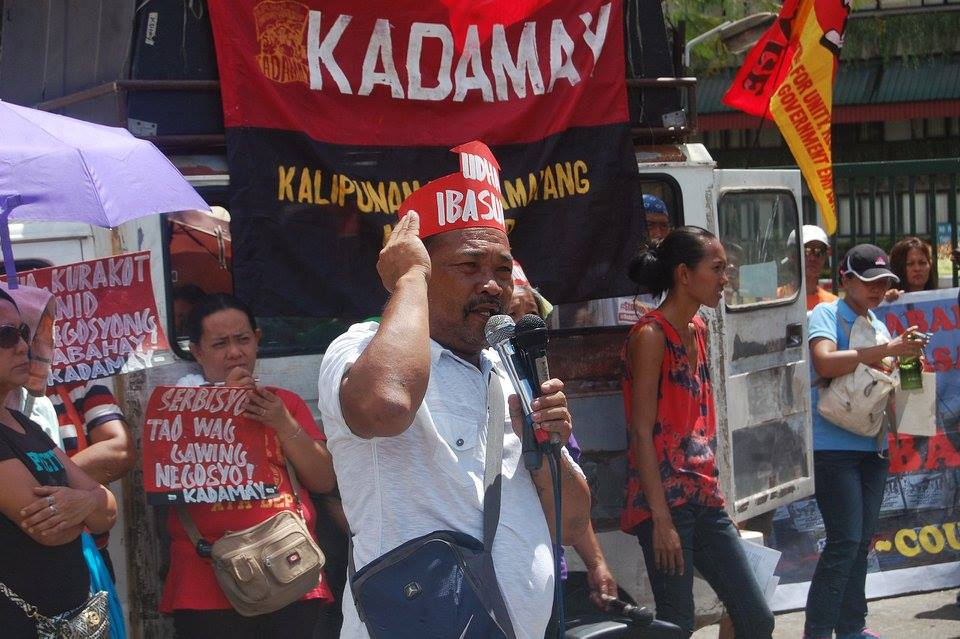 Carlito Badion, Kadamay secretary general said Kadamay will occupy more idle government housing units. (Photo by Arkibong Bayan)
