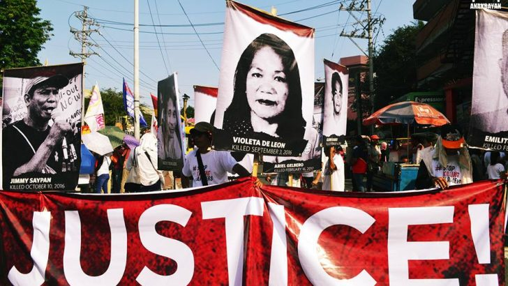 HR violations, impunity persist under Duterte