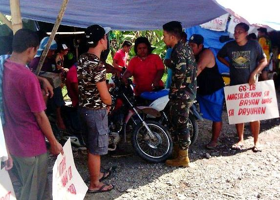 Workers on 2-month strike harassed by soldiers in Mindanao