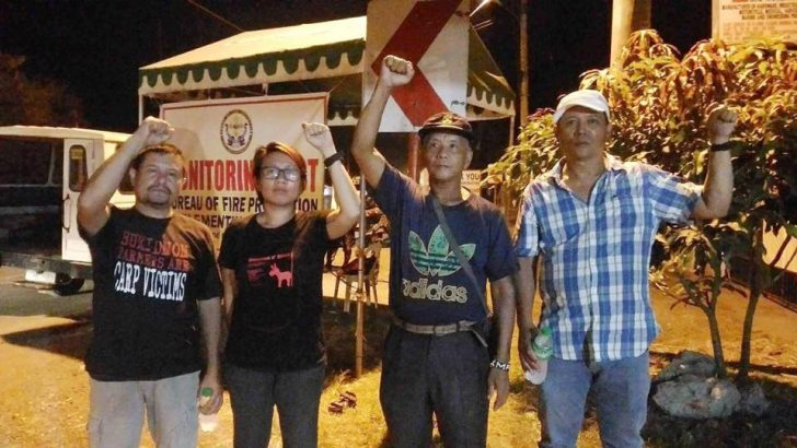 4 progressive leaders held for hours at Davao military checkpoint