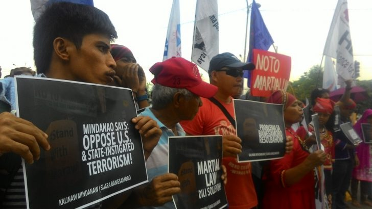 'Not doing their job' | Groups slam Congress support for Duterte's martial law
