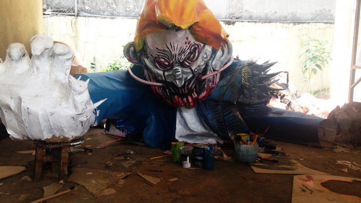 People's SONA 2017 | Progressive groups bring back effigy – but it's not just Duterte's