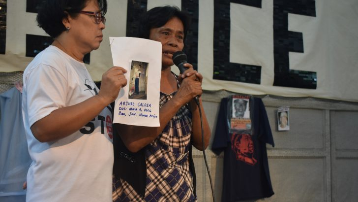 Wife of detained NDFP consultant calls for husband's release, justice for son's death