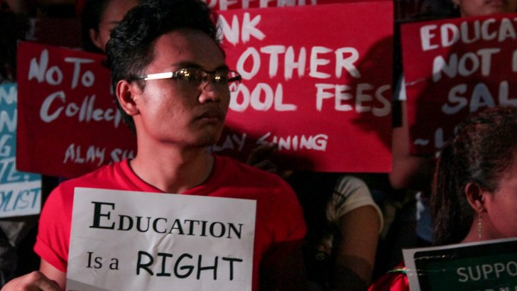 'Historic victory' | Youth groups call for vigilance as Duterte signs free college education law