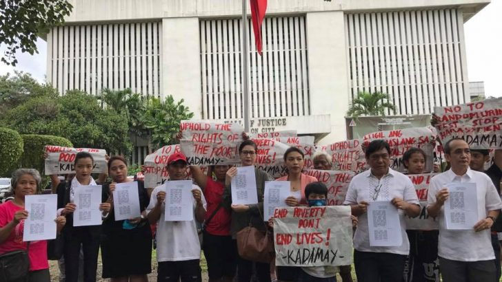 Lawyers, urban poor ask QC court to stop compulsory drug testing
