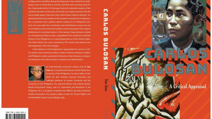 Book review | Carlos Bulosan—Revolutionary Filipino Writer in the United States: A Critical Appraisal
