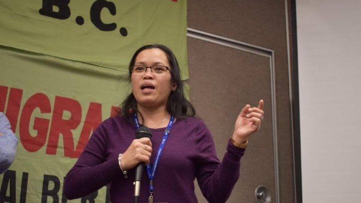 Activist Filipina caregiver heads migrants group in Canada
