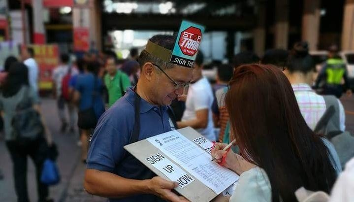 Commuters quick to support signature campaign against TRAIN law