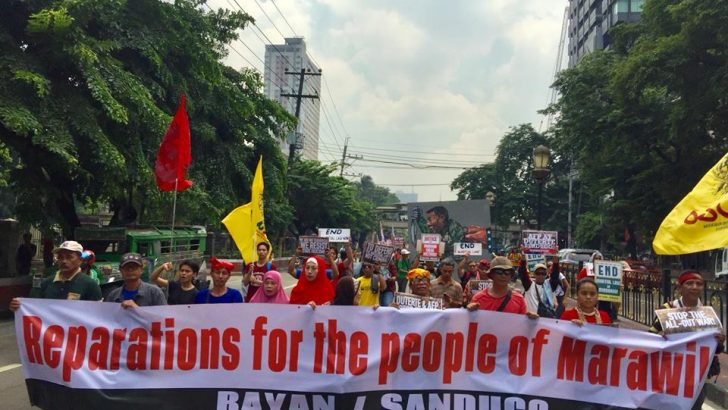 Mindanaoans, progressives demand an end to martial law in Mindanao