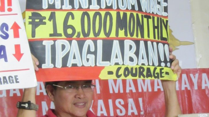 Amid 'dubious poverty estimates,' govt  employees press for P16k monthly minimum wage