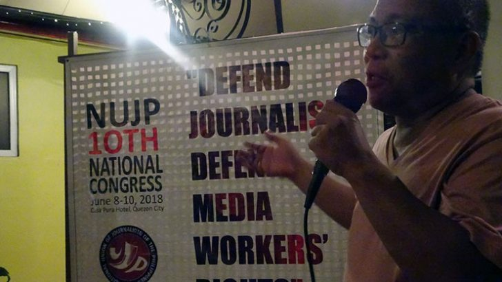 NUJP vows to continue fighting for press freedom, labor rights
