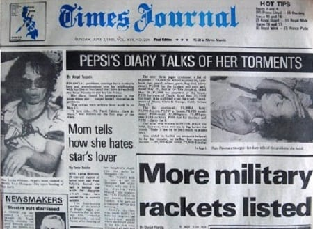 Journalists lament Inquirer.net's taking down of Pepsi Paloma stories