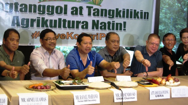 #LoveKoAgriPH | Agricultural groups air solutions to high prices of food