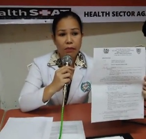 Health union denounces harassment of members