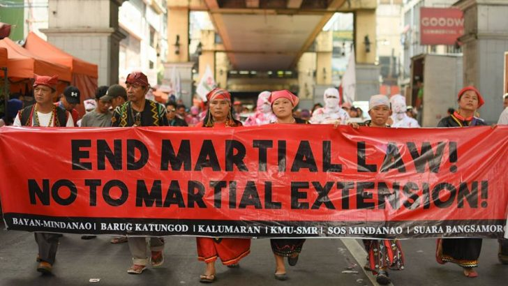 Is martial law extension constitutionally justified?