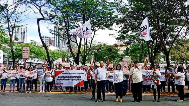 Comelec disqualifies Aksyon Health Workers Party-list