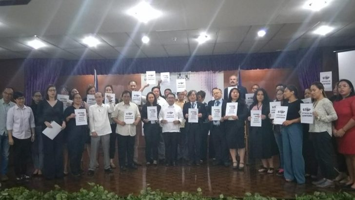 Filipino, foreign lawyers stand with NUPL amid gov't attacks