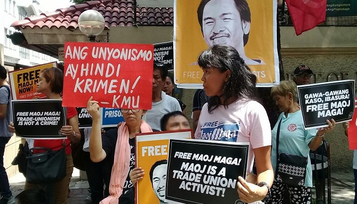 Global Day of Action seeks freedom of jailed unionist Maoj Maga