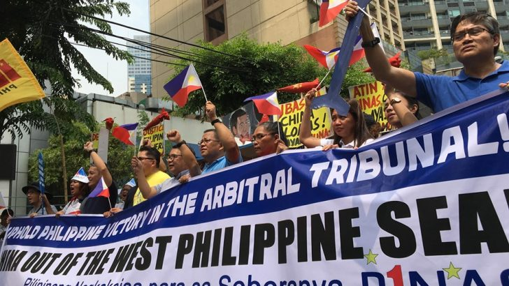 Groups assail Duterte's failure to uphold 3-year-old arbitration ruling favoring PH