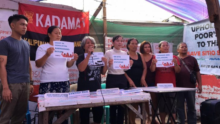 QC residents push for on-site development amid impending demolition