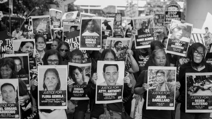 Contextualizing militarization and killings in Negros