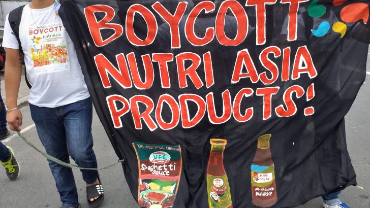 NutriAsia, Pepmaco workers call for resignation of labor official