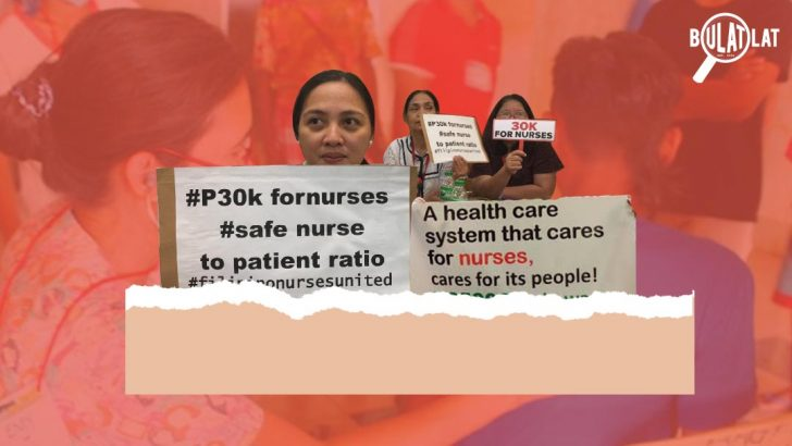 1 nurse for an entire ward? | 'Caring for Filipino nurses, a step toward improving public health system'