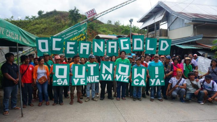 Nueva Vizcaya folk celebrate as Oceanagold suspends operations