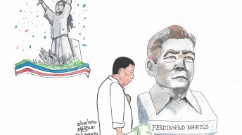 Remembering the dictator's fall