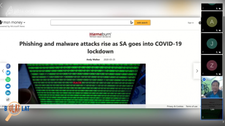 Bulatlatan: COVID-themed cyber attacks and how to protect yourself
