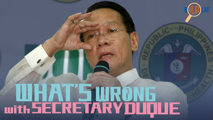 What's wrong with Secretary Duque?