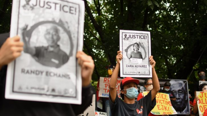 International rights groups call for an end to 'cold-blooded killings' in PH