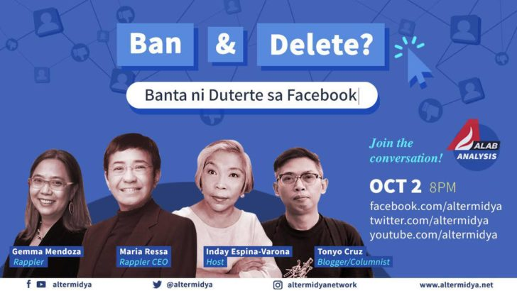 ALAB ANALYSIS: Ban and delete Facebook?